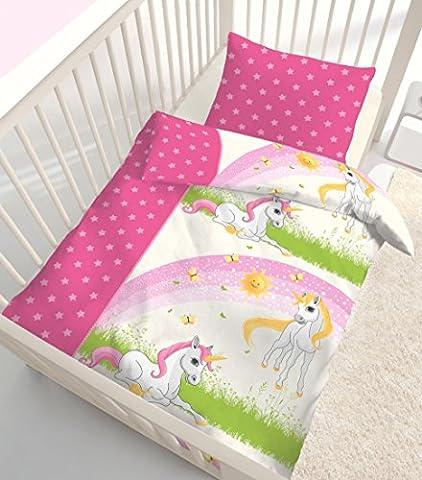 Fein Biber Baby Mädchen Bettwäsche