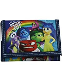 Disney Inside Out Kid Wallet Coin Purse Card ID Photos Holder