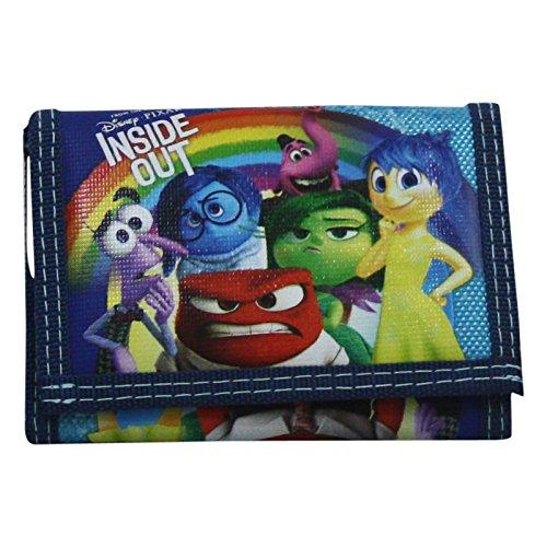 Disney Inside Out Vice Versa Portefeuille Pour Enfant Porte-Monnaie Cartes
