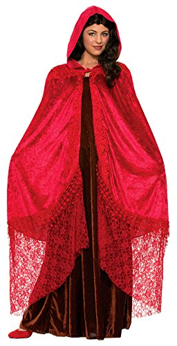 y Red Adult Costume Cape One Size ()