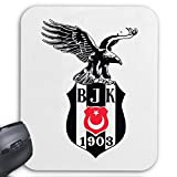Mousepad (Mauspad) Besiktas Türkiye Türkei Designer Spass Party Kult Retro für ihren Laptop, Notebook oder Internet PC (mit Windows Linux usw.)