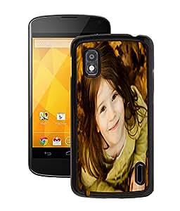 Fuson 2D Printed Cute Baby Designer Back Case Cover for LG Google Nexus 4 - D733