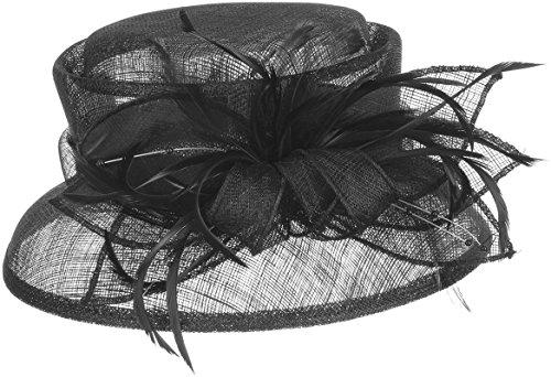 Chapeau Mareana McBURN parure pour cheveux chapeau cloche Noir