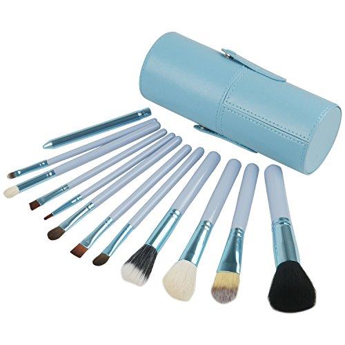TRIXES – Beauté/Maquillage – Lot de 12 pinceaux de maquillage