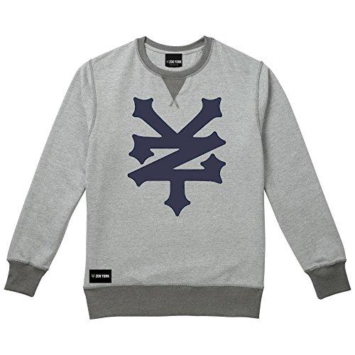 Zoo York Herren Sweatshirt Corning Grey (Grey Heather)