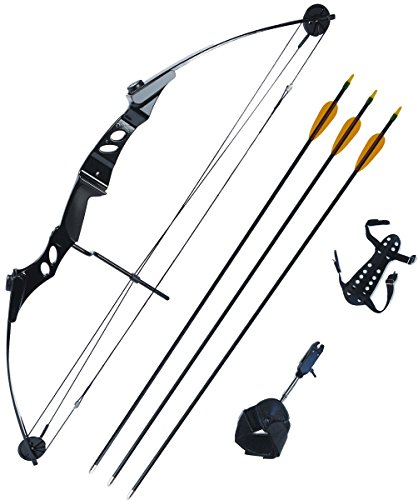 petron-55lb-stealth-adult-compound-bow-kit-with-arrows-release-aid