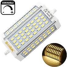 Bonlux 30W dimmerabile R7s Proiettore LED lampadina 118mm bianco caldo 3000K 200 gradi doppio attacco sostituzione della lampada J118 R7s LED 300W alogena