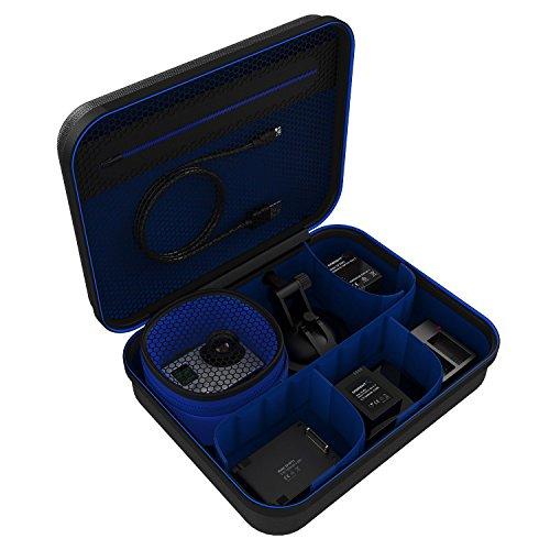 Sabrent Universal Travel Tasche für GoPro oder kleine elektronische Geräte und Zubehör [Medium] (GP-CSBG) Medium Camcorder Case