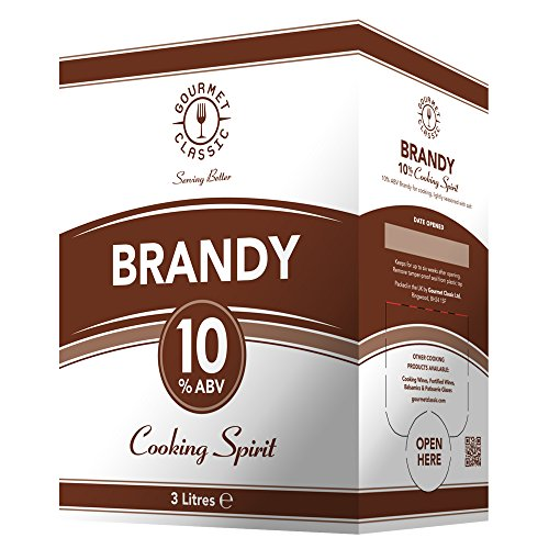 Gourmet Classic Brandy Cooking Spirits 3ltrs Test