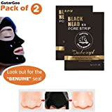 #9: Doberyl Gutargoo (2 Pack 12G) Activated Charcoal Carbon Peel Off Diy Purifying Black Mask For Blackhead Whitehead Pores Deep Cleaner For Unisex