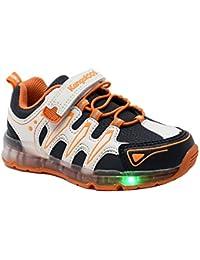 kangaROOS K806-6L - Zapatillas de luces para niño que cambian de apariencia con la luz solar