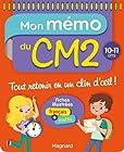 Mon Memo du CM2 10 11 Ans
