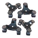 Ajuste Herramientas 3Rueda Movimiento Dolly para mobiliario pesado rodillo pack de 2