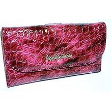 fd21a867570e8 großes Damen - Portemonnaie lackiertes Leder Marken- Geldbörse Jennifer  Jones