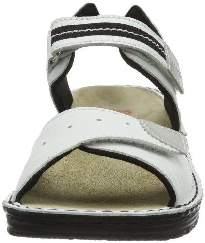 Berkemann Leni 03102, Sandali donna Bianco (White - Weiß (weiß 101))