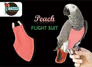 Aazil Flight Suit Bird Diaper 1-Piece (Size: Wide, Pink)
