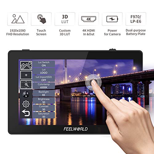 Feelworld F6 Plus 5.5 Pulgadas Monitor DSLR Tactil