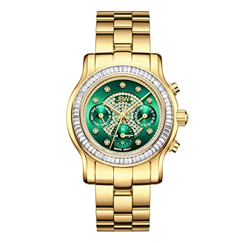 JBW Diamant Women's Stainless Watch LAUREL - Gold