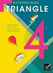 Triangle Mathématiques 4e éd. 2011 - Manuel de l'élève