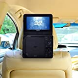 TFY Car Headrest Mount for Non Swiel Portable DVD Player-7 Inch