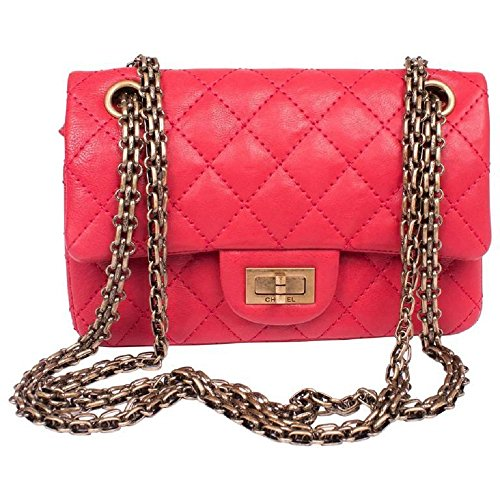 Chanel-Medium-Reissue-255-225-Red-Aged-Calfskin-with-Antique-Gold-Tone-Metal