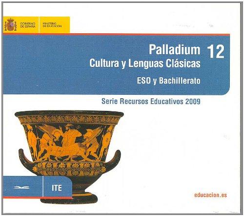 Portada del libro Recurso Palladium. Cultura y lenguas clásicas. ESO y bachillerato (Serie Recursos Educativos)