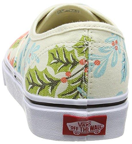 Vans Authentic vee33b2, Unisex - Erwachsene Skateboard-Schuhe Beige (van Doren/poinsettia/classic White)