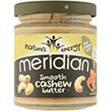 Meridian Natural Cashew Butter Whole Nut Spread, 170g