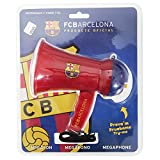 FC Barcelona Official Football Crest Sports Megaphone (One Size) (Scarlet/Blue)
