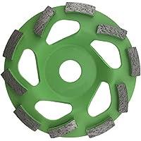 PRODIAMANT Muela de copa de diamante premium hormigón TURBO 125 mm x 22,23 mm verde 125 mm