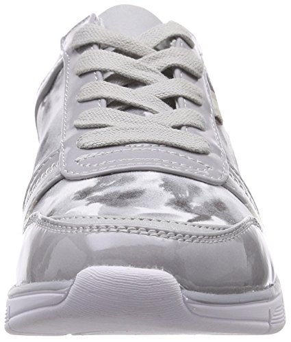 Jana Damen 23603 Sneakers Grau (GREY FLOWER 297)