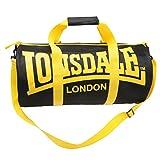 Lonsdale-bolsa de gimnasio y fitness, color negro, talla Talla única