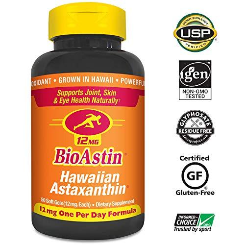 Nutrex Hawaii, BioAstin, 12 mg, 50 Gel Caps