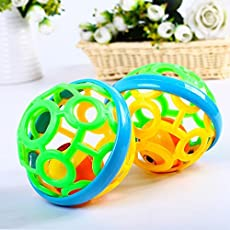 Rattle Toy Ball for Babies, Infants and Toddlers - BPA Free - Non Toxic
