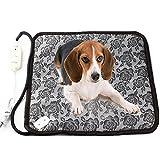 Pet Heating Pad, Dog Cat Electric Heating Pad Waterproof Adjustable Warming Mat