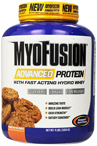 Gaspari Nutrition - Myofusion Advanced 4Lb Peanut Buttercookie Dough - 51OPPjzt40L