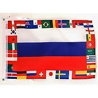 AZ FLAG Bandera de los 32 Equipos Copa Mundial DE FÚTBOL DE 2018 Rusia 45x30cm -