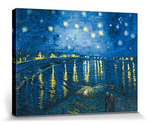 1art1 Vincent Van Gogh - Noche Estrellada El Ródano