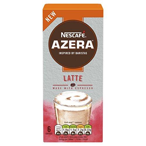 NESCAFÉ Azera Latte Coffee 6 sachets x 18 g 51OPTgL9wtL