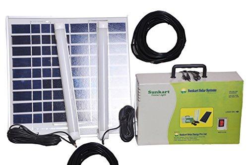 Sunkart Solar LED Home lighting system with 2 tubes