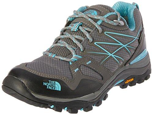 The North Face Women's Hedgehog Fastpack Gore-TEX Hiking Shoe Grey/Fortuna Blue Size 7.5 M US Womens Hedgehog