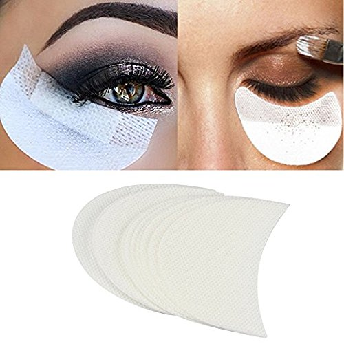 Babysbreath Maquillaje Eye Pad Pegatina Blanca Suave