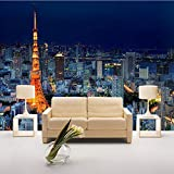 Papel Tapiz Personalizado Foto Torre De París Edificio De La Ciudad Paisaje Mural De La Oficina Salón Dormitorio Decoración Papel Tapiz (W)400x(H)280cm