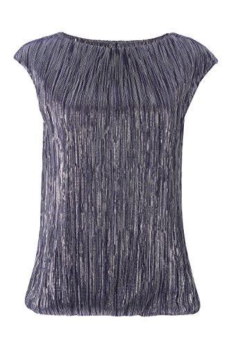 roman-originals-womens-purple-metallic-bubble-hem-top-evening-party-sizes-10-20-10