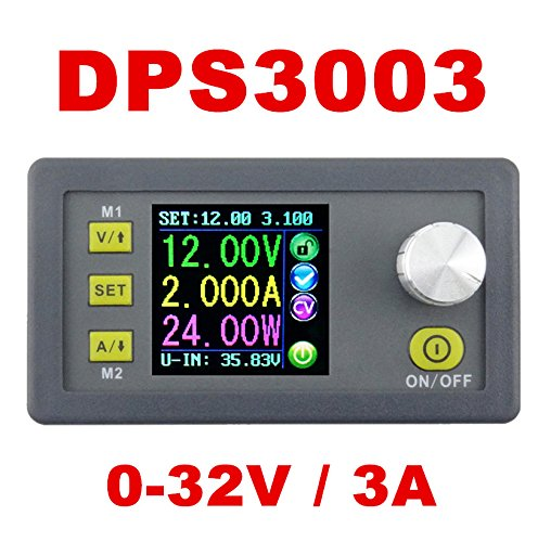 JUANJUAN DPS3003 programmable Power Supply 0-32V 3A DC-DC Step-Down Constant Digital Voltage Meter Constant Current Power Supply 10% Off