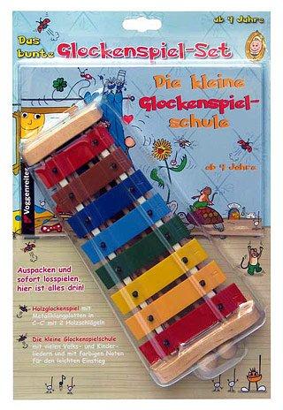 Preisvergleich Produktbild DAS BUNTE GLOCKENSPIEL SET - arrangiert für Glockenspiel [Noten / Sheetmusic]
