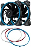 Corsair CO-9050002-WW Air Series AF120 Quiet Edition 120mm Low Noise High Airflow Fan Dual Pack