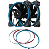 Corsair CO-9050004-WW Air Series AF120 Performance Edition 120mm High Airflow Fan Dual Pack