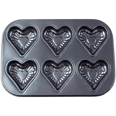 Cuocere la torta a forma di cuore stampo 6 stampo