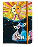 Rosina Wachtmeister - Notizbuch / Tagebuch - Happiness is shared - Katzen